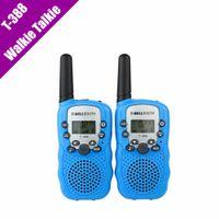 Wholesale T Mini Walkie Talkie UHF MHz W CH For Kid Children LCD Display A0762Z set