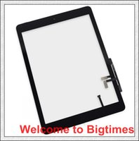 Wholesale Excellent quality Free DHL Shipping For iPad Air Touch Screen Digitizer home butoon adhesive