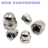 acorn cap nut - A2 Stainless Steel Cap Nut Cover Type Nut Acorn Nut Hex Domed Cap Nut M3 to M20
