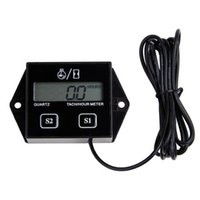 atv engine - Spark Plugs Engine Digital Tach Hour Meter Tachometer Gauge Motorcycle ATV