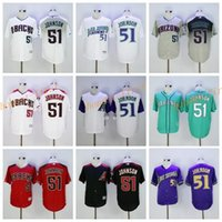 arizona grey - Arizona Diamondbacks Randy Johnson Jersey Cooperstown Fashion Randy Johnson Baseball Jerseys Diamondbacks Vintage Red Black White Grey