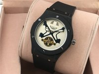 big name tags - Men s hub automatic big movement bang watches watch luxury rubber Strap watch bip hubng name with LOGO h