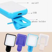 Wholesale RK10 RK Mini Portable Night Artifact Leds LED Selfie Flash Light Mobile Phone Flash Light Mini Selfie Sync Flashlight For Phone Android
