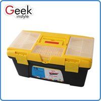 Wholesale Plastic buckle PP Texture of material tool box Easy to carry Go out to work essential supplies Suitable for storage of things