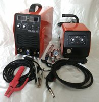 Wholesale 220V MIG IGBT Welder with separate wire feeder with mig torch m welding earth cable pc V CO2 gas regulator