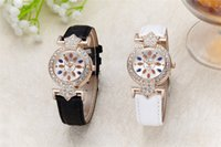 amazon candy - Ms amazon hot style newly designed debutantes with diamond watches Candy color leather strap Noble atmosphere