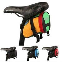 Wholesale outdoor mountain bike bicycle saddle bag road bike seat back bag