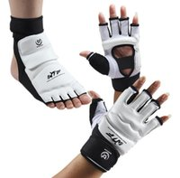 Wholesale Taekwondo Gloves Sparring Hand Foot Protector Cover Boxing Gloves Professional Taekwondo Brace Protection For Adult Kids