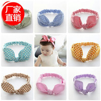 bebe accessories - Newborn Baby Knot Headband Hair Bow Bandeau Bebe Turban Kids Accessories Elastic Headbands Polka Dot Baby Hair Accessories