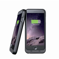 Wholesale MFI Slim mAh Rechargeable Battery Case Fundas For Original iPhone Backup Powerbank External Charger Protective Housing M6