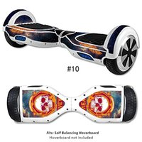 Wholesale 6 inch wheel hoverboard Protective Sticker Vinyl Decal for quot Two Wheel Self Balancing Scooter and Hoverboard Skin Sticker