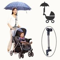 baby stroller umbrella holder - upgraed adjustable Umbrella Stand stroller Holder Bracket for Baby Pram Bicycle Stroller wheelChair