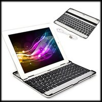 apple external keyboard - by DHL or EMS Ultrathin Sliver Aluminum Portable Wireless Bluetooth Keyboard Layout Cover Case Stand