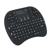 Wholesale New Backlit English Keyboard Rii i8 G Mini Keyboard and Mouse Combo for Mini PC Smart TV Box