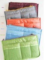 Wholesale storage cosmetic bag Makeup Bag Purse MP3 Mp4 Phone Travel Insert Handbag Organizer fashion bag in bag Sundry Zipper Bag