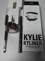 best cream eyeliner - price Kylie Cosmetics KYLINER Birthday Limited Edition Eyeliner Kit Dark Bronze Black color best price DHL free