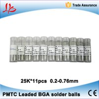 Wholesale Hot sell PMTC Leaded BGA solder balls Tin balls mm K set for BGA reballing rework