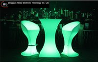 Wholesale LED bar table and chair furniture