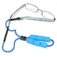 Wholesale swimming and fishing eyewear adjustable sturdy eyeglass sport strap buoy floating cords retainer with silicone end tube floaters
