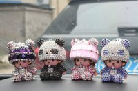 Wholesale Car furnishing articles stellar qiqi Lovely car interior furnishing articles creative doll car accessories auto supplies
