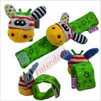 Precio de Juguete educativo de abeja-Lamaze bebé traqueteos de dibujos animados abeja muñeca correa Bell mariquita muñequera banda infantil peluche juguetes de muñeca educativos juguete muñeca traqueteos BB281 50