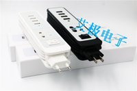 Wholesale 9 color M Cable Universal in Dual USB Socket Travel EU US Charger Adapter with Dual USB Port