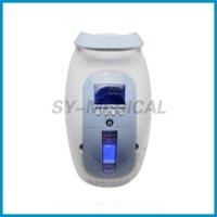Wholesale 2015 CE Approved Portable L Oxygen Concentrator Health Care Beauty Facial Brain Heart Care Respiratory Disease Healthy ZH J11