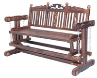 antique rocking chairs - Living Room FurnitureSolid Wood Chair Double Rocking Chair Leisure Chairs For Garden