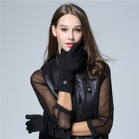 apparel winter glove - Carbon Fiber Heat Gloves Warm Cold Ski Heating Glove Apparel Thermal Conductivity Cold Resistance Clothing Safety Waterproof Costume