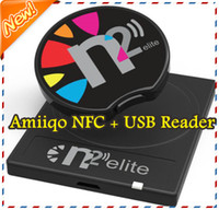 Wholesale Amiiqo NFC Unlimited Amiibo s Toy NFC Emulator N2 Elite USB NFC Reader Writer Support Amiibo Figurines