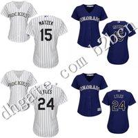 jordan size 15 - 2016 cheap women Colorado Rockie Jordan Lyles Mark Reynolds Tyler Matzek Jersey ladies Baseball Jersey Embroidery size S XL
