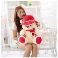 achat en gros de deux ours en peluche rose-Belle ours rose rouge ours princesse Brésil au cap ours Les couples portent des cadeaux de la Saint-Valentin