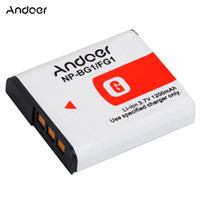 Wholesale Andoer Rechargeable Replacement Camera Li ion Lithium Battery mAh for Sony NP BG1 NP FG1 DSC H3 DSC W70 BC CSGE BC CSGD W30