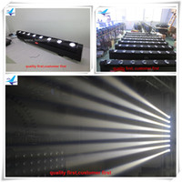 bar lighting systems - 4 x10w White LED moving beam strip professional DJ indoor stage lighting System for led moving Disco Bar