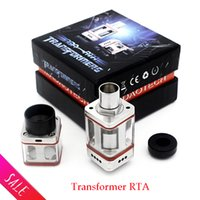 air tube fittings - Transformer RTA RTDA Vaporizer Stainless Steel Square Glass Tube huge air force one e cigs fit E Cigarette DHL