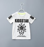 alphanumeric shirt - Letters Printing T shirt Pentagram alphanumeric printing round collar short sleeve t shirt New girls short t shirt