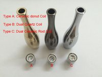 Cheap Cannon vase 2016 newest 3D Atomizer panzer mod hades mod ecig cloutank M2 wax atomizers rebuildable huge vapor 3D dripper dry herb atomizer