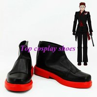 adam shoes - Freeshipping anime RWBY Adam Taurus Cosplay Shoes Boots Hand made for Halloween Christmas