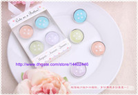 Wholesale 200sets Cute as a Button Magnets Baby Shower Christening Baptism Favour Bomboniere wedding party gift