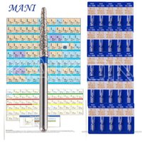 dental drill burs - 20 Boxes Dental Diamond Burs for High Speed Handpiece Medium FG mm Tooth Drill New mm types
