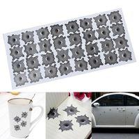 auto window graphics - Creative Bullet Hole Orifice Sticker Graphic Decal Shothole Car Auto Helmet Windows Drop Shipping CAR