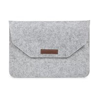Wholesale Briefcase For quot quot quot Macbook Air Pro Retina inch Hand Bag Soft Hair Felt