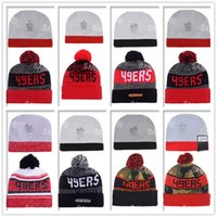 beach sf - football ers beanies Winter High Quality Beanie For Men Women SF Skull Caps Skullies Camo Knit Cotton Hats