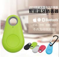 Rappel iTag Smart Wireless Bluetooth Alarm 4.0 Anti Perdu Tracker Key Finder pour enfants Pet Phone Car Perdu Trouvé pour iPhone Samsung Android