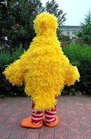 big bird photos - Hot sale Deluxe Handmade Version Real Photos Character Mascot Costume Cartoon Mascot Costumes big yellow bird costume