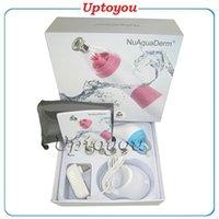 Wholesale Nuaquaderm Portable Peeling Dermabrasion facial Device Diamond Microdermabrasion Machine vs Nufaace Trinity Pro and mini skin care tools
