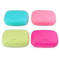 bathroom travel case - Big Size Bathroom Soap Dishes Box Portable Plate Case Home Shower Travel Hiking Soap Boxes
