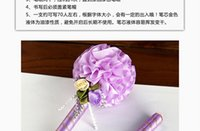 Wholesale The new high grade wedding sign pen sign pen exquisite handmade European and American fashion style gold colour