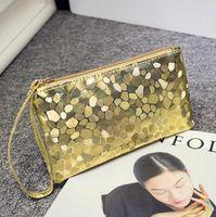 Wholesale Fashion Design Ladies Alligator Handbags Women Colorful Phone Bag Female Zipper Coin Purse Storage bag Cosmetic Bags Colors