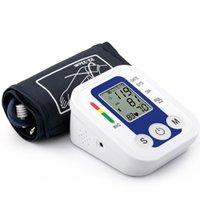 arm bp monitor - Arm Blood Pressure bp Monitor Tonometer Hematomanometer Sphygmomanometer Pulsometros Digital Health Care Monitors tansiyon aleti